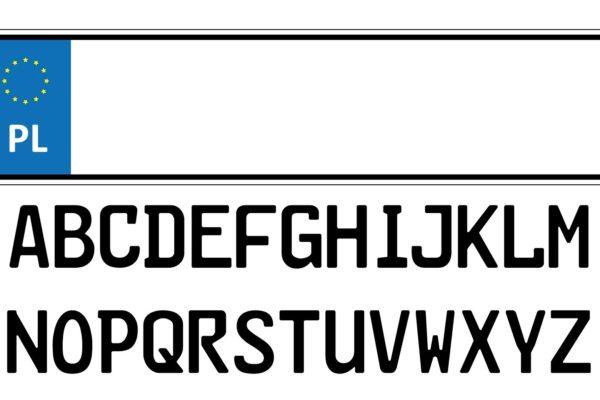 Polskie tablice rejestracyjne, oznaczenia